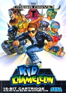 Kid Chameleon Cover Artwork
