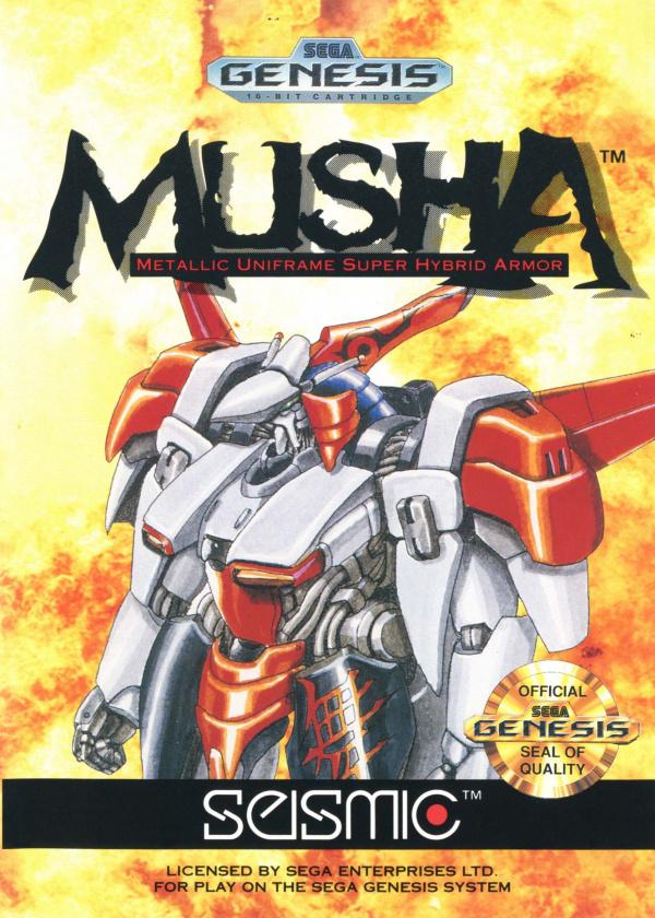 MUSHA Cover Artwork