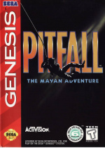 Pitfall: The Mayan Adventure Cover (Click to enlarge)