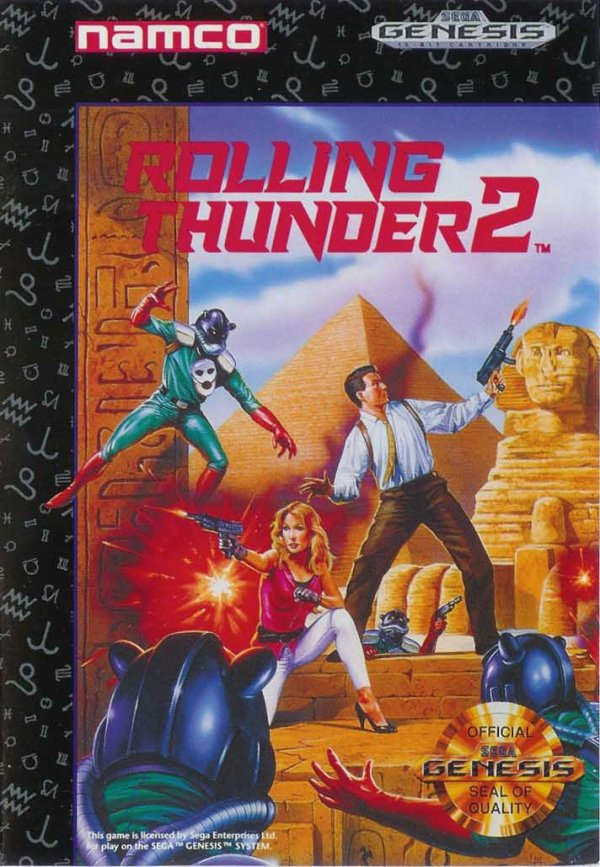 Rolling Thunder 2 Cover Artwork