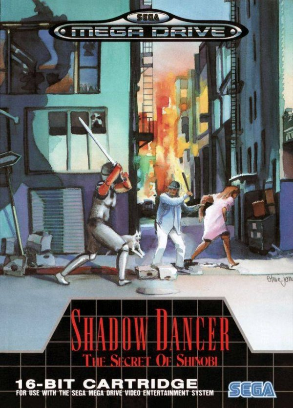 Shadow Dancer: The Secret of Shinobi Cover Artwork