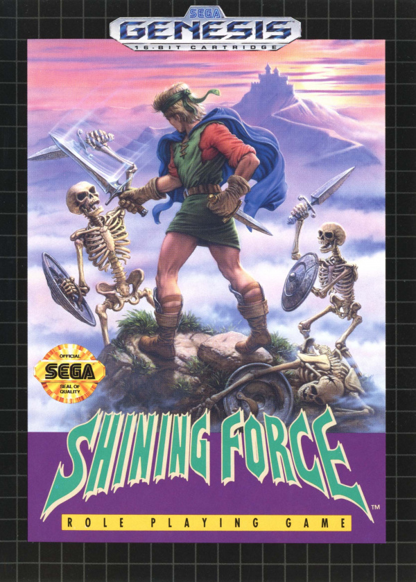 Shining Force Cover Artwork