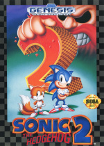 Sonic the Hedgehog 2 Cover (Click to enlarge)