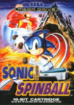 Sonic Spinball Cover (Click to enlarge)