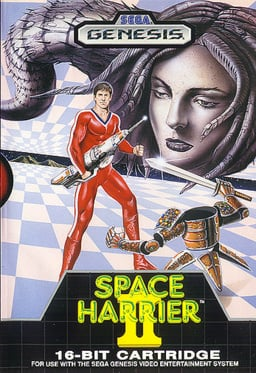 Space Harrier II Cover Artwork