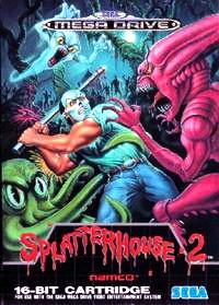 Splatterhouse 2 Cover Artwork