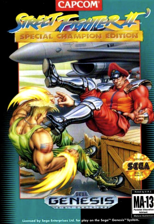 Street Fighter II': Special Champion Edition Cover Artwork
