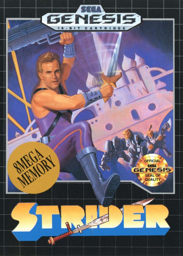 Strider Cover Artwork