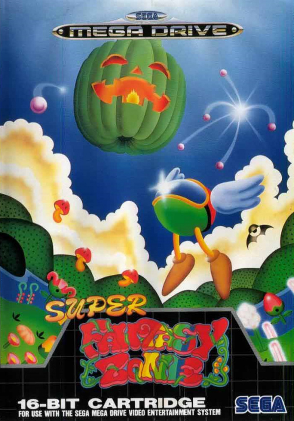 Super Fantasy Zone Cover Artwork
