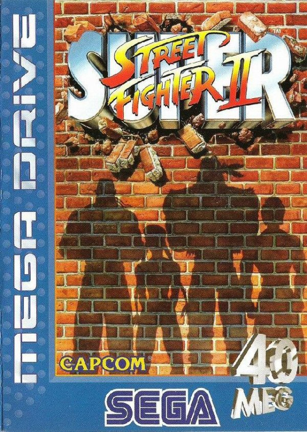 Super Street Fighter II Cover Artwork