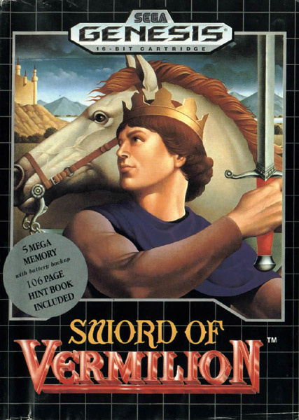 Sword of Vermilion Cover Artwork