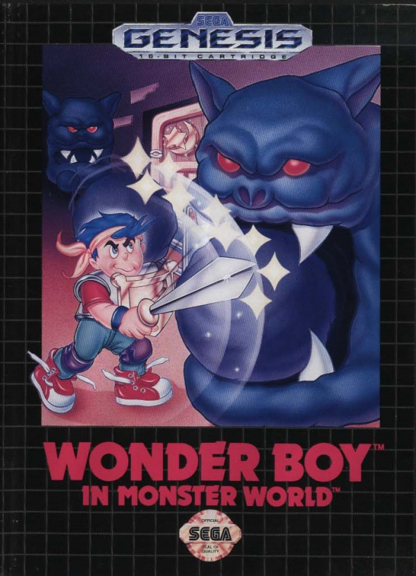 Wonder Boy in Monster World Cover Artwork
