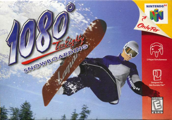 1080° Snowboarding Cover Artwork