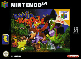 Banjo-Kazooie Cover (Click to enlarge)