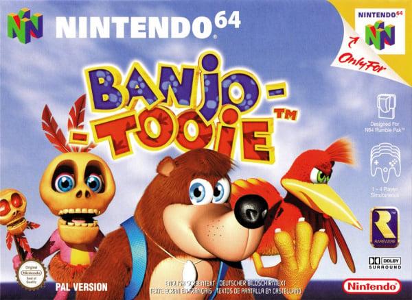 Banjo Tooie Cover Artwork