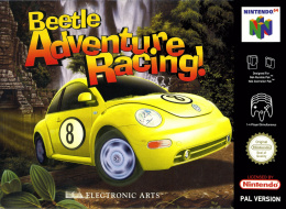 Beetle Adventure Racing! Cover (Click to enlarge)
