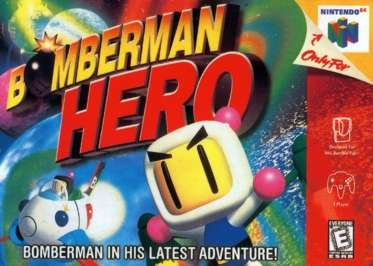 Bomberman Hero Cover Artwork