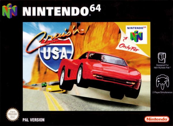 Cruis'n USA Cover Artwork