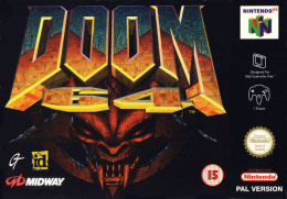 Doom 64 Cover (Click to enlarge)