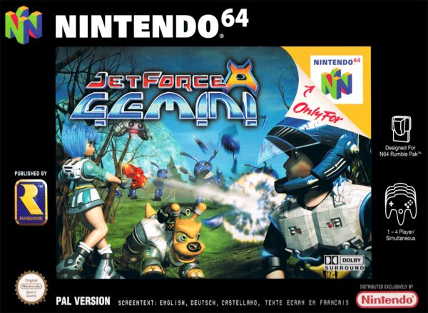 Jet Force Gemini Cover Artwork