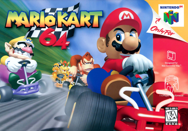 Mario Kart 64 Cover Artwork