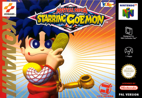 Mystical Ninja Starring Goemon Cover Artwork