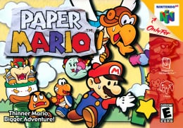 Paper Mario Cover (Click to enlarge)
