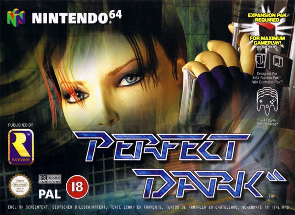 Perfect Dark Cover Artwork