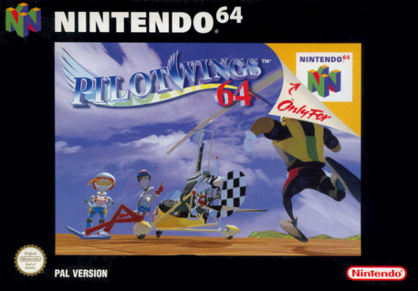 Pilotwings 64 Cover Artwork