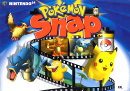 Pokémon Snap Cover (Click to enlarge)