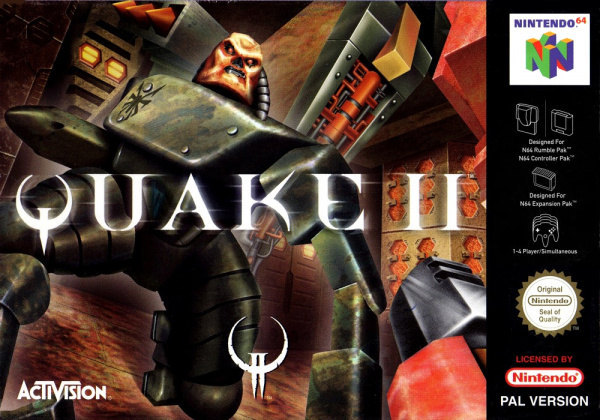 Quake II Cover Artwork