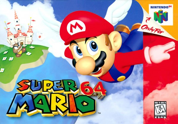 Super Mario 64 Cover Artwork