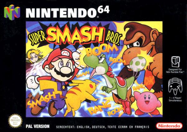 Super Smash Bros. Cover Artwork