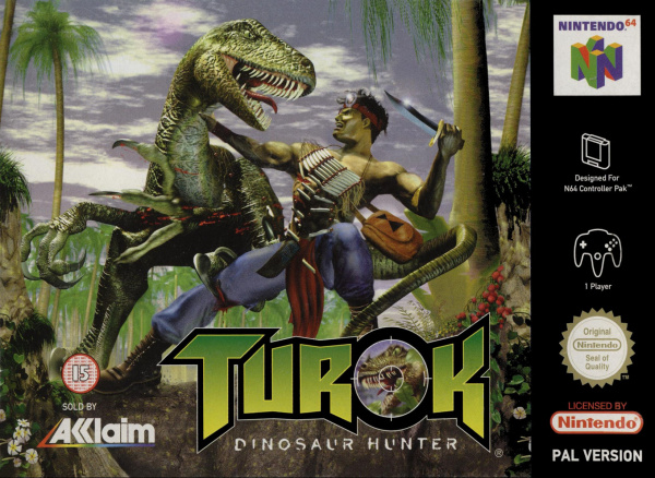 Turok: Dinosaur Hunter Cover Artwork