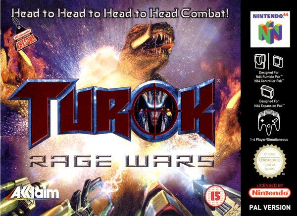Turok: Rage Wars Cover Artwork