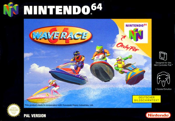 Wave Race 64 Cover Artwork