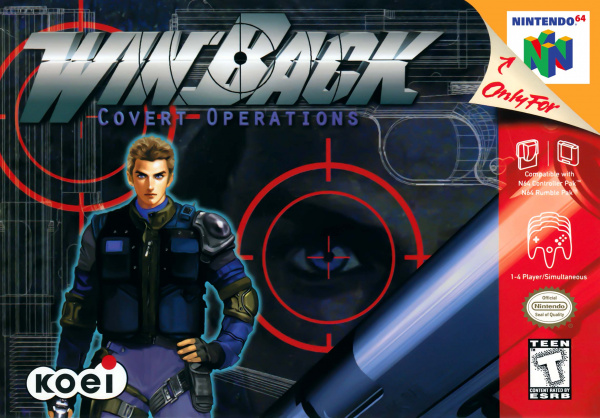 WinBack: Covert Operations Cover Artwork