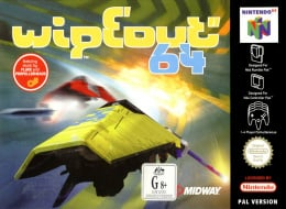 Wipeout 64 Cover (Click to enlarge)