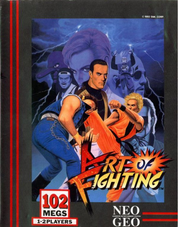 Art of Fighting Cover Artwork
