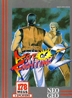 Art of Fighting 2 Cover Artwork