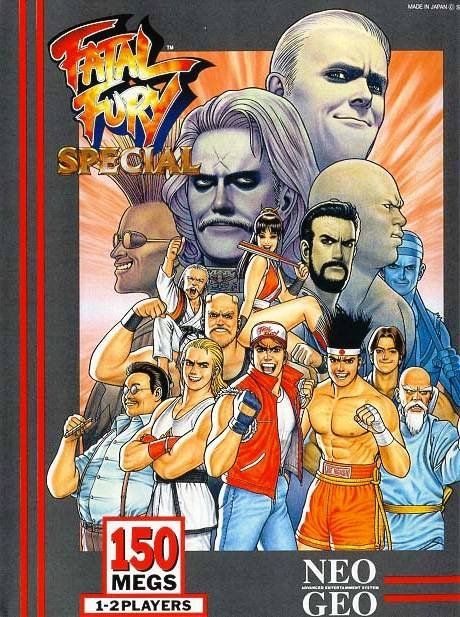 Fatal Fury Special Cover Artwork