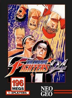The King of Fighters '94 Cover Artwork