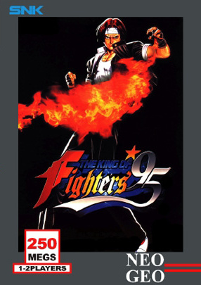 The King of Fighters '95 Cover Artwork