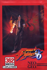 The King of Fighters '96 Cover (Click to enlarge)