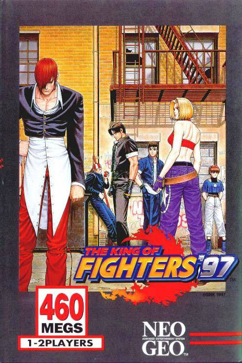 The King of Fighters '97 Cover Artwork