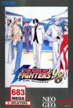 The King of Fighters '98 Cover (Click to enlarge)