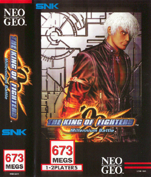 The King of Fighters '99 Cover Artwork