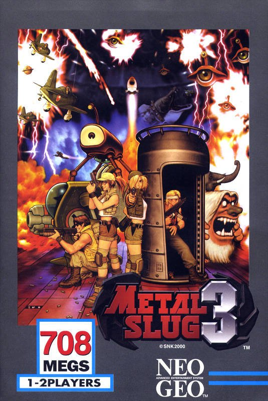 Metal Slug 3 Cover Artwork