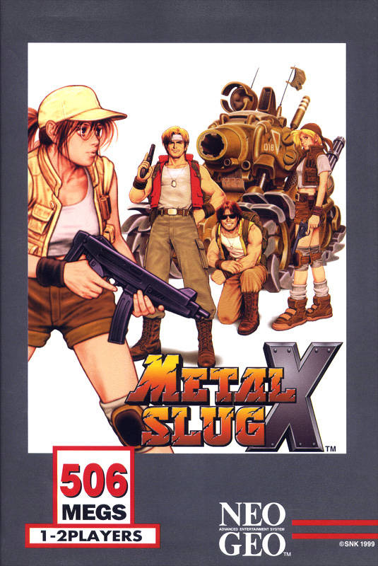 Metal Slug X Cover Artwork