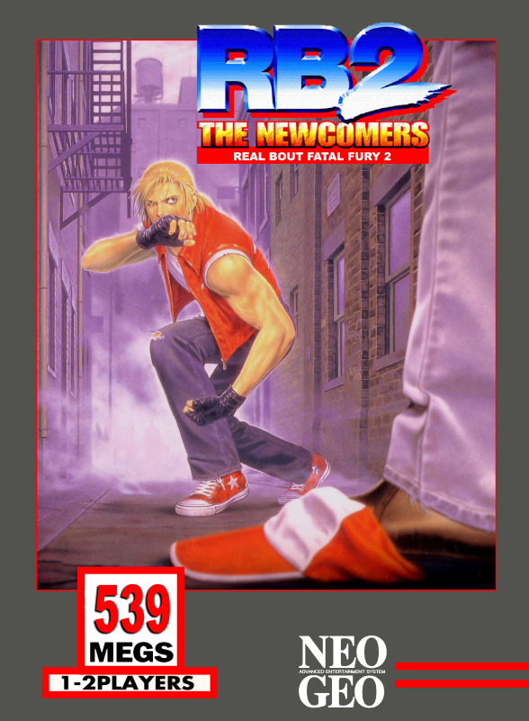 Real Bout Fatal Fury 2: The Newcomers Cover Artwork